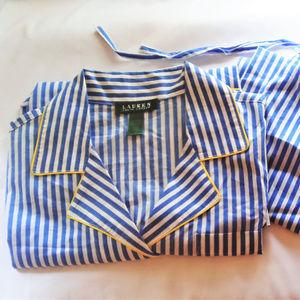 Ralph Lauren Monogram Pajama Set